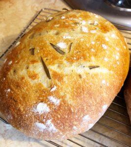 Instant Pot Rosemary Bread