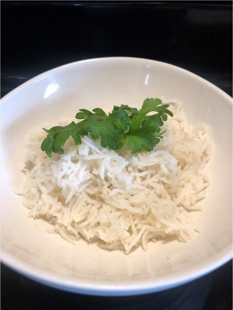 Instant Pot cooked Rice